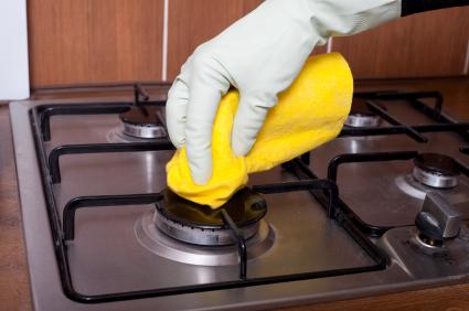 Tűzhely tisztítása