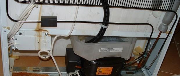 Hűtőszekrényben a kompresszor